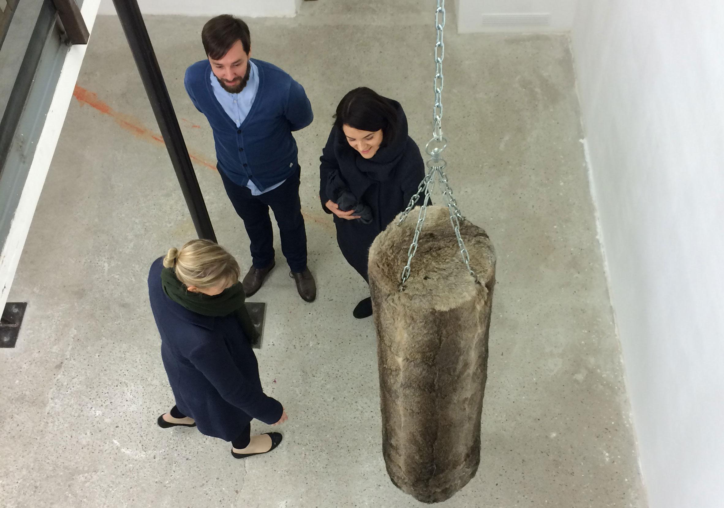 Ausstellungseröffnung Sofia Goscinski